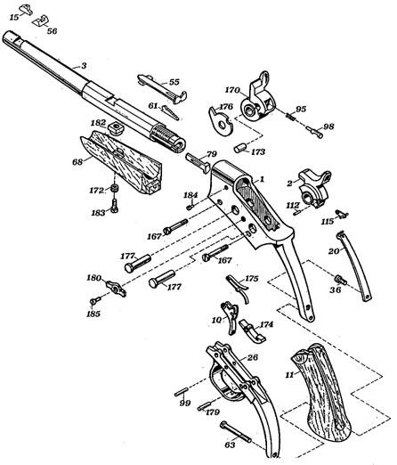 thompson center trigger parts diagram