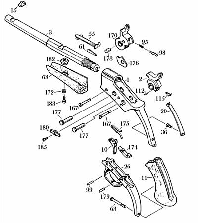 Uberti_RollingBlockPistolschem uberti rolling block pistol vtigunparts com online store
